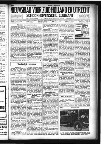 Schoonhovensche Courant 1934-02-05