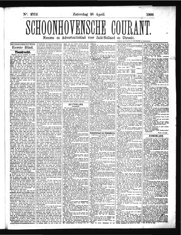 Schoonhovensche Courant 1906-04-28