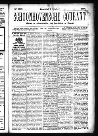 Schoonhovensche Courant 1899-10-07