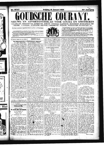 Goudsche Courant 1925-01-16