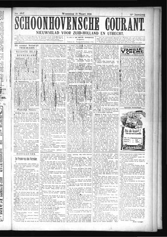 Schoonhovensche Courant 1925-03-25