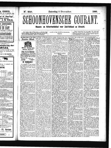 Schoonhovensche Courant 1899-12-02