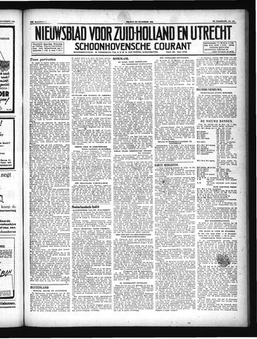 Schoonhovensche Courant 1946-11-22