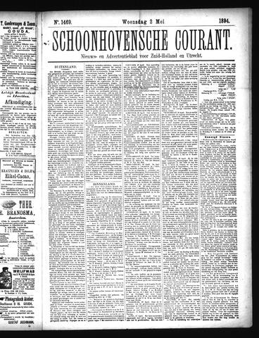 Schoonhovensche Courant 1894-05-02