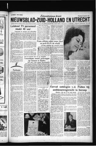 Schoonhovensche Courant 1961-11-29