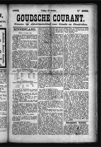 Goudsche Courant 1883-10-26