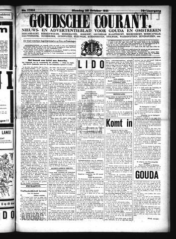 Goudsche Courant 1931-10-20