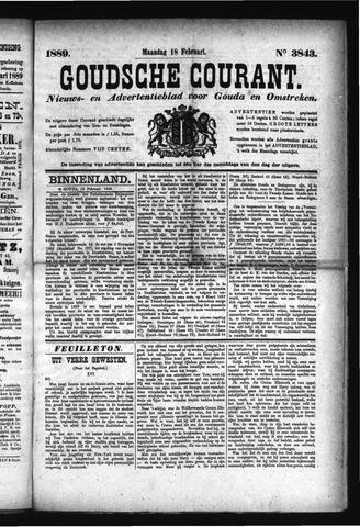 Goudsche Courant 1889-02-18