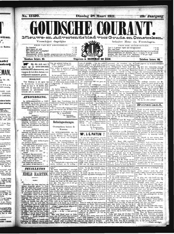 Goudsche Courant 1911-03-28