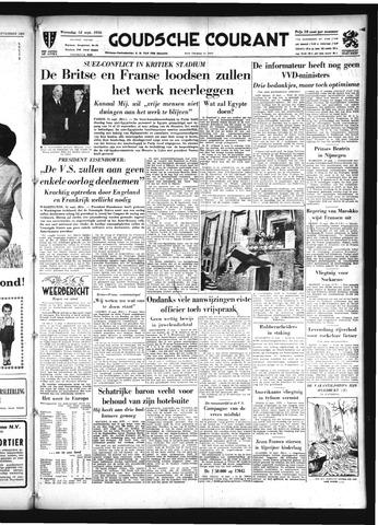Goudsche Courant 1956-09-12