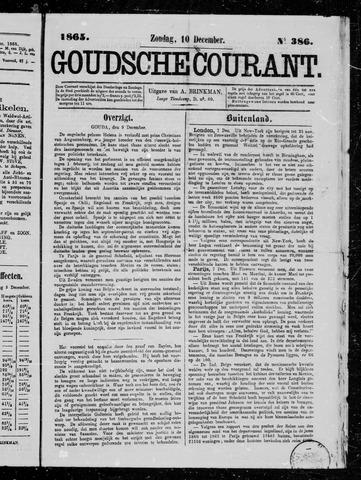 Goudsche Courant 1865-12-10