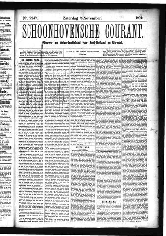 Schoonhovensche Courant 1901-11-02