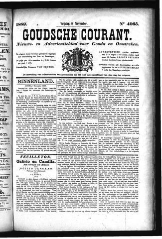 Goudsche Courant 1889-11-08