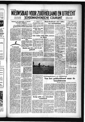 Schoonhovensche Courant 1953-07-08
