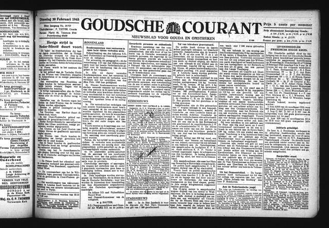 Goudsche Courant 1945-02-20