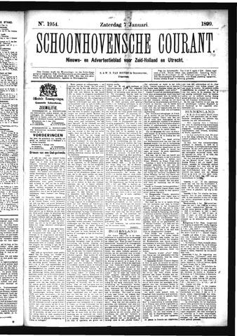 Schoonhovensche Courant 1899-01-07