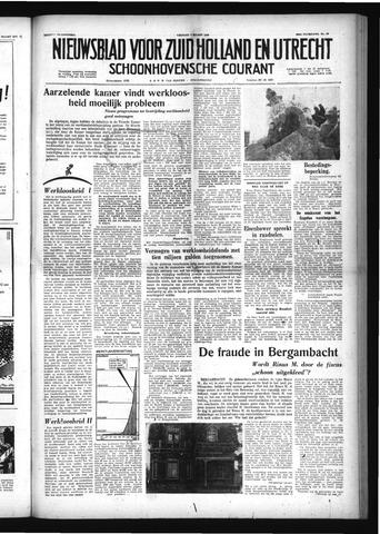 Schoonhovensche Courant 1958-03-07
