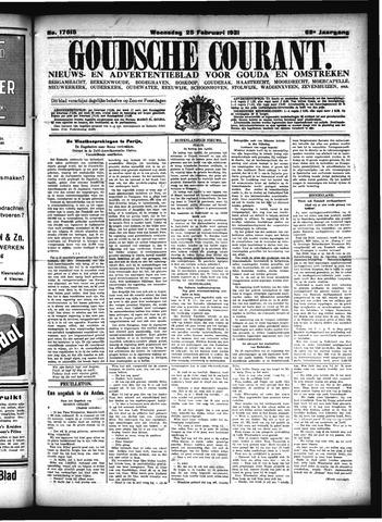 Goudsche Courant 1931-02-25