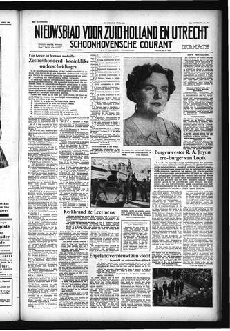 Schoonhovensche Courant 1957-04-29