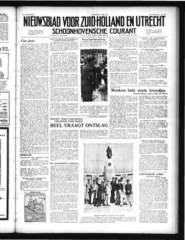 Schoonhovensche Courant 1949-05-11