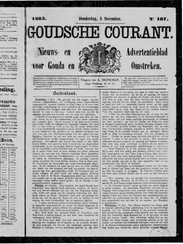 Goudsche Courant 1863-11-05