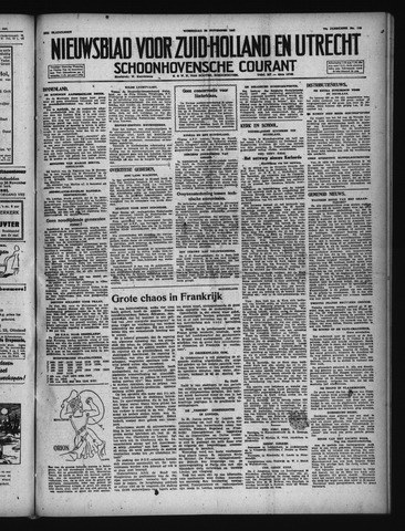 Schoonhovensche Courant 1947-11-26