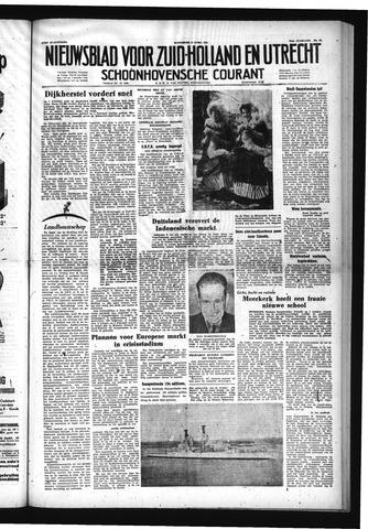 Schoonhovensche Courant 1953-04-15