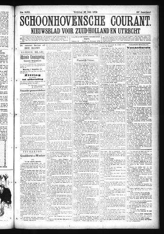 Schoonhovensche Courant 1926-07-30