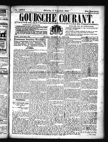 Goudsche Courant 1919-08-05