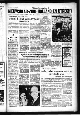 Schoonhovensche Courant 1967-11-22