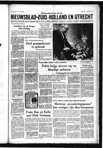 Schoonhovensche Courant 1970-12-21