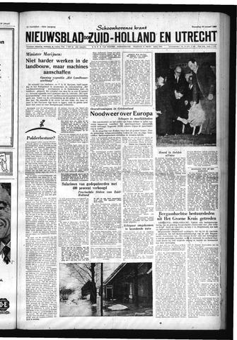 Schoonhovensche Courant 1960-01-20