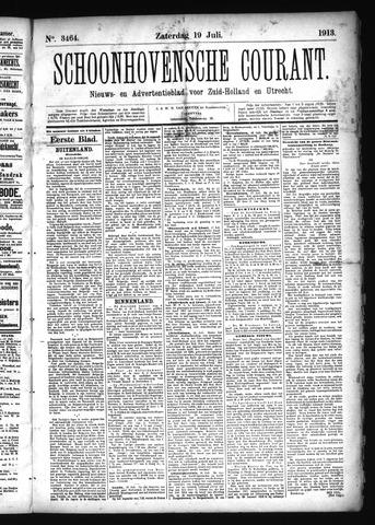 Schoonhovensche Courant 1913-07-19