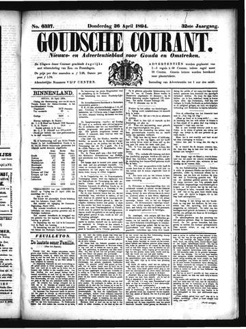 Goudsche Courant 1894-04-26
