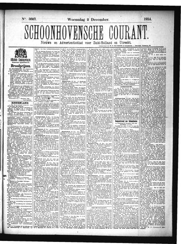 Schoonhovensche Courant 1914-12-02