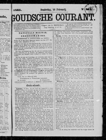 Goudsche Courant 1865-02-16