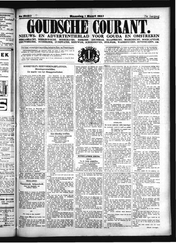 Goudsche Courant 1937-03-01
