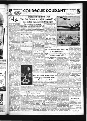 Goudsche Courant 1952-02-28