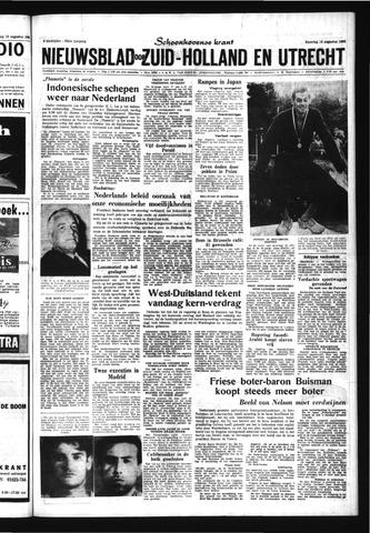Schoonhovensche Courant 1963-08-19