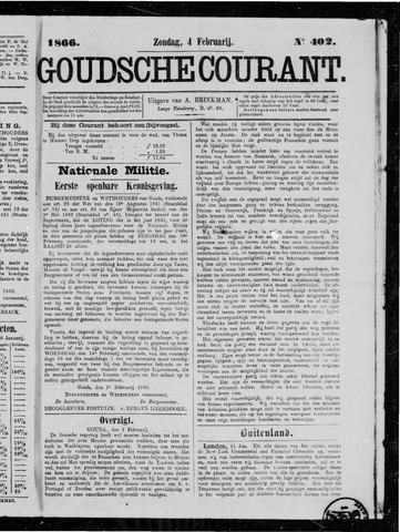 Goudsche Courant 1866-02-04