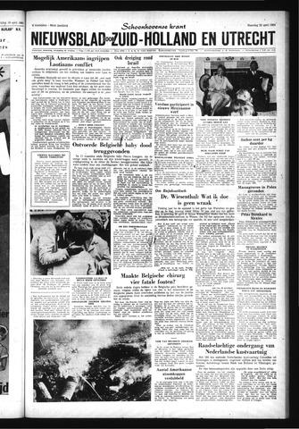Schoonhovensche Courant 1963-04-22