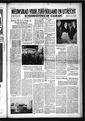 Schoonhovensche Courant 1954-05-26