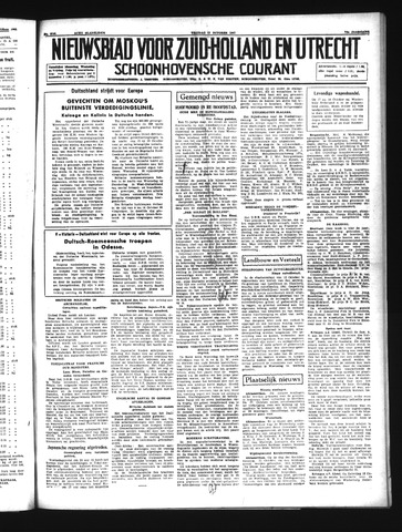 Schoonhovensche Courant 1941-10-17