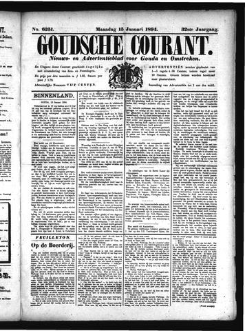 Goudsche Courant 1894-01-15