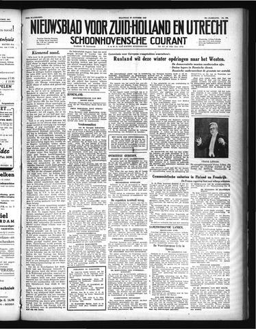 Schoonhovensche Courant 1948-10-25