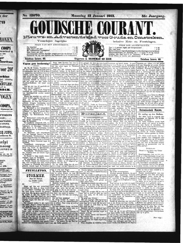 Goudsche Courant 1913-01-13