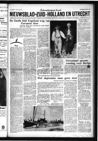 Schoonhovensche Courant 1963-01-16