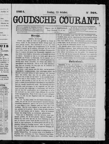 Goudsche Courant 1864-10-23
