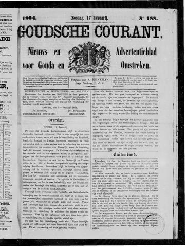 Goudsche Courant 1864-01-17