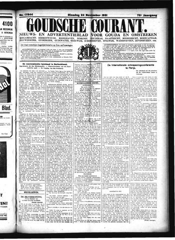 Goudsche Courant 1931-11-24